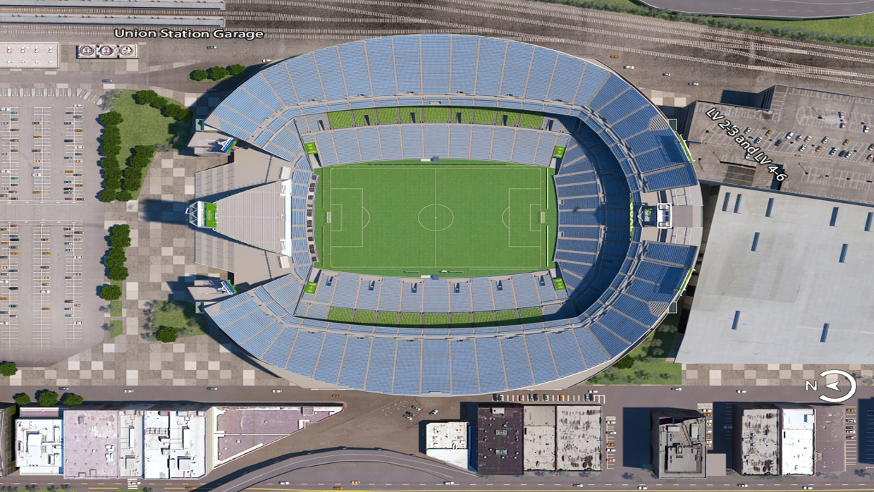 Seattle sounders virtual venue by iomedia